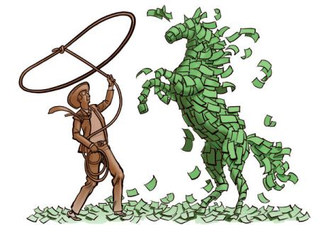 Lasso horse money