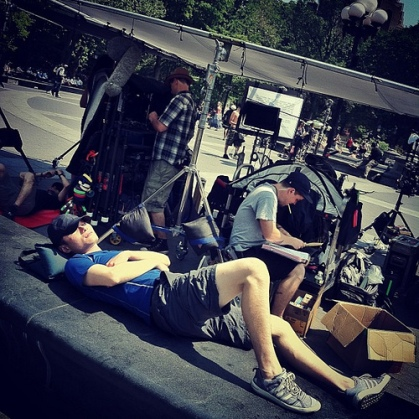 nap on set