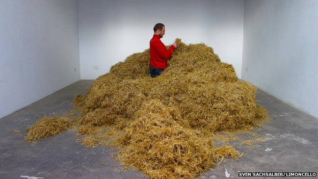 needle haystack man